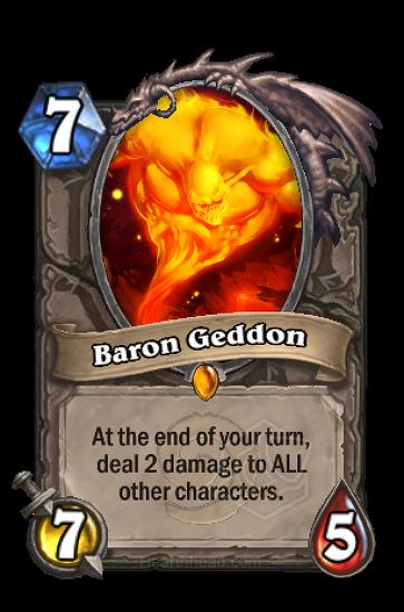 (전설) 남작 게돈 (Baron Geddon)