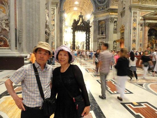 성 베드로 성당_부모님과 2주 유럽 (열 두번째 날)