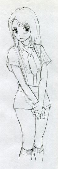 소녀 Sketch