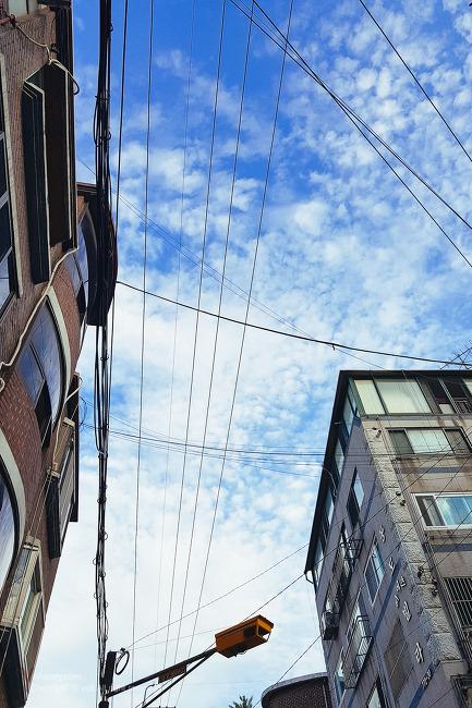 갤럭시 s8+ 담은 하늘 사진
