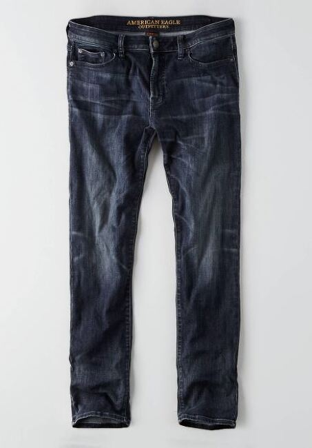 아메리칸이글 Slim dark indigo wash