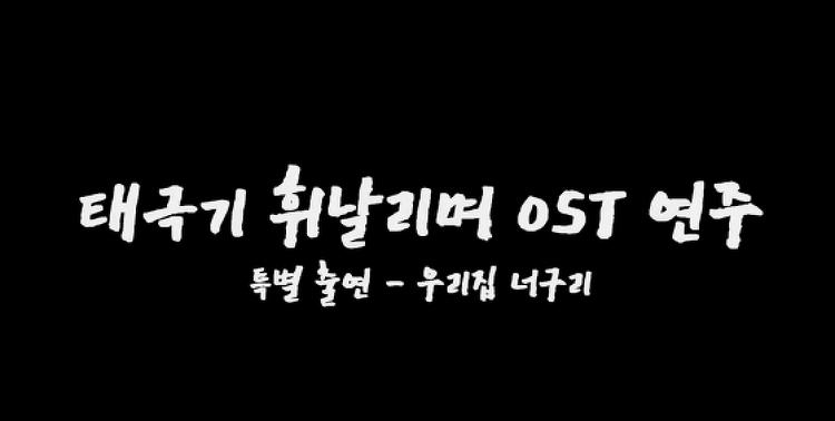 태극기 휘날리며 OST 연주