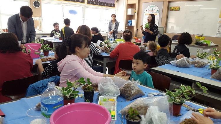 용두초 희망가정 행복나기 가족체험활동 통해 가족애 향상