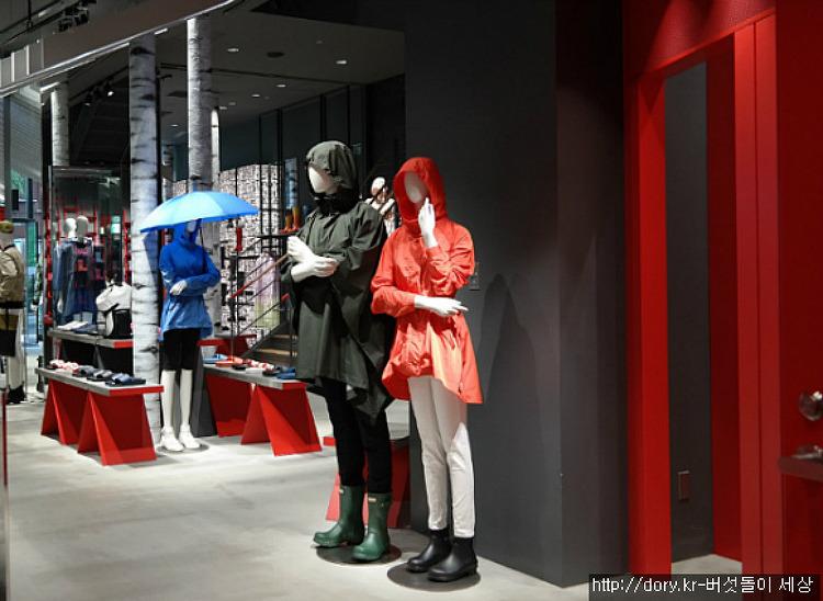 일본에서 흥미롭게 구경해 본 HUNTER 매장