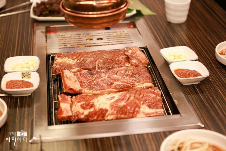 [내맘대로 맛집 - 일산맛집, 장항동맛집] 돼지갈비랑 왕갈비탕이 인상적이였던 고깃집, 조선시대