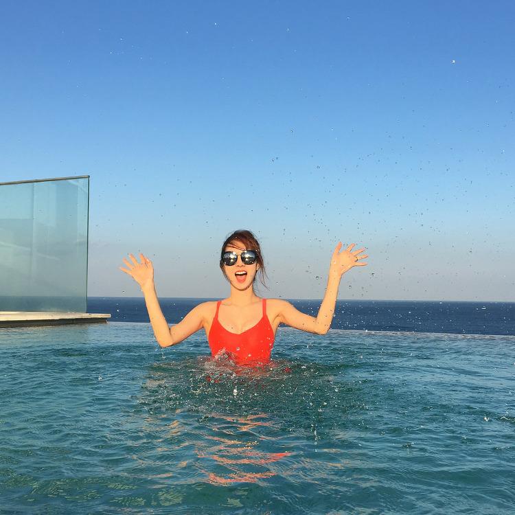 스텔라 민희 수영복 인스타