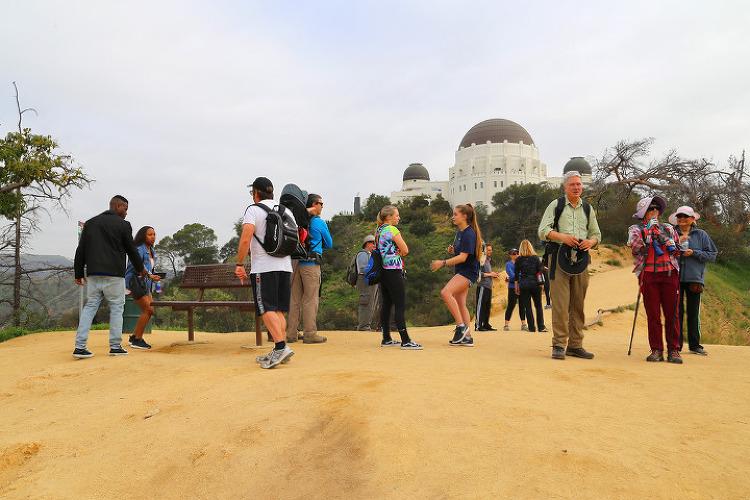 걸어서 하늘까지? LA 그리피스 공원 입구의 펀델(Fern Dell) 트레일을 지나, 걸어서 천문대까지