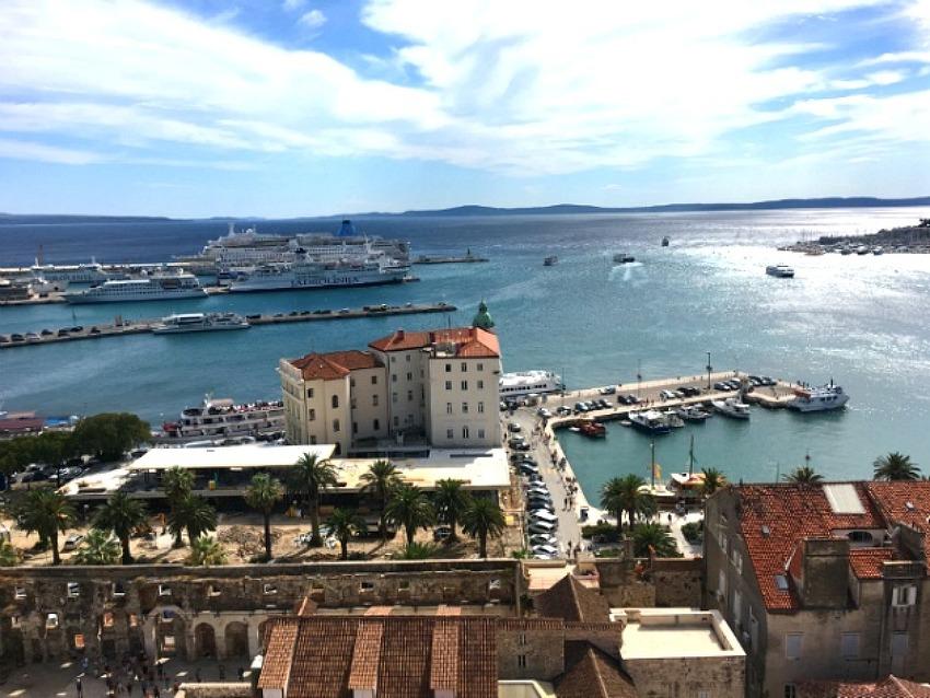 크로아티아 7 : 과거와 현재가 섞여 일상이 되는곳, 항구도시 스플리트