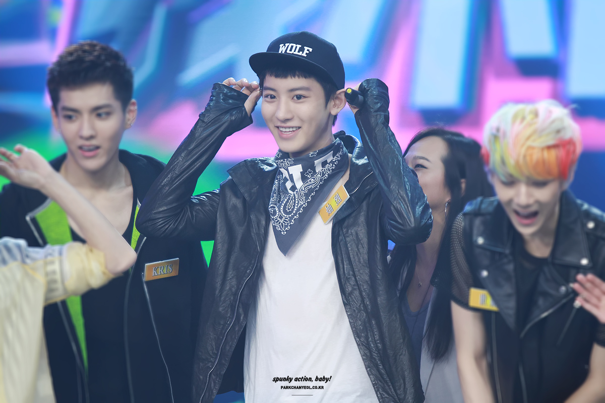 2013 happy camp �xoxo� all about chanyeol