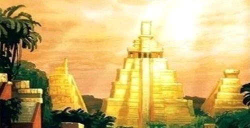 전설의 고대 도시 흔적 발견, 시우다드 블랑카             상상도