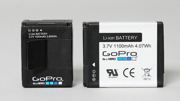 고프로3의 배터리