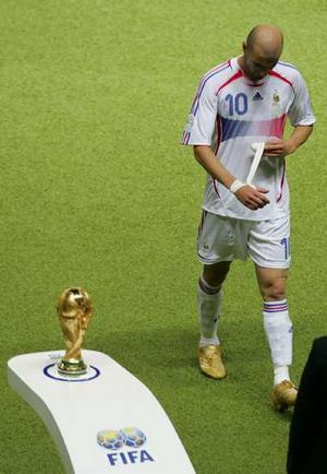 Iconic World Cup Moments  Zinedine Zidane and the moment