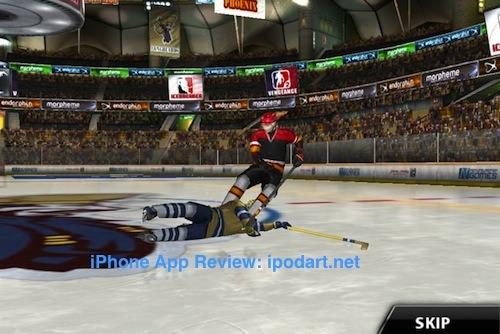 아이폰 아이스하키 게임 아이스브레이커 Icebreaker Hockey