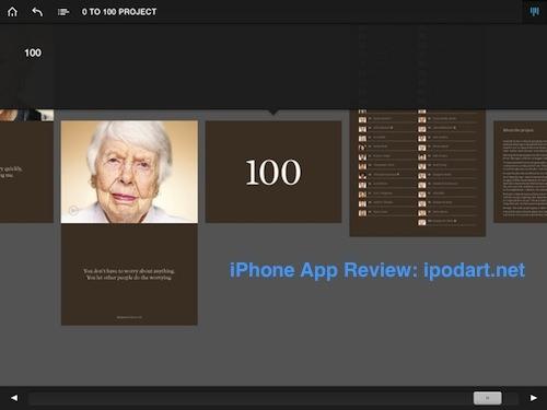 0 to 100 Project 아이폰 아이패드 앱 리뷰
