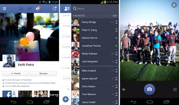 via Slashgear - Facebook's native Android app release tipped imminent