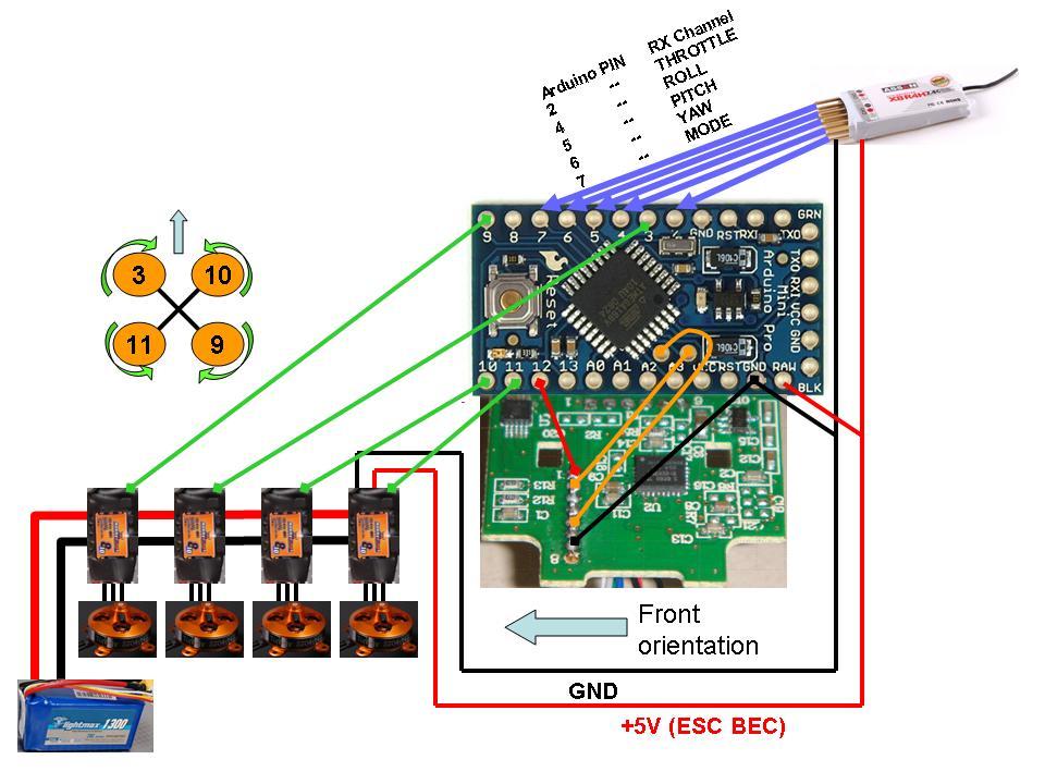 Коптер arduino как сделать