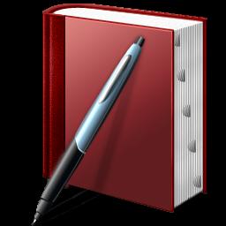 Windows 7 Book and Pen icon