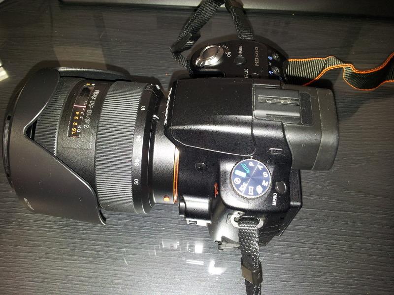 소니 A55 + SAL1650 렌즈 조합해서 사용해본 소감