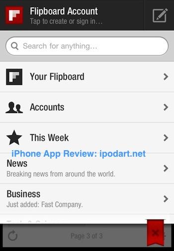 Flipboard 아이폰 아이패드 플립보드