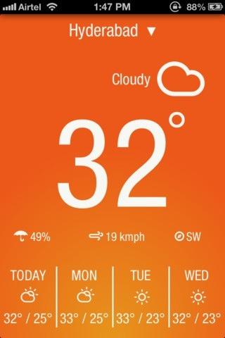 Weather Neue 날씨 아이폰 아이패드