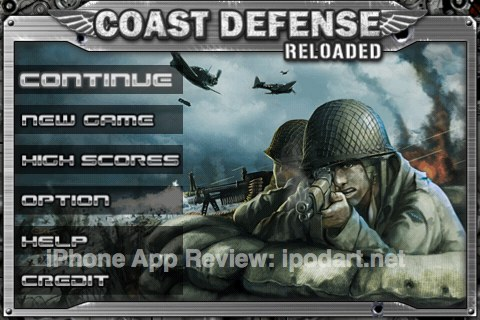 아이폰 추천게임 Coast Defense - Reloaded