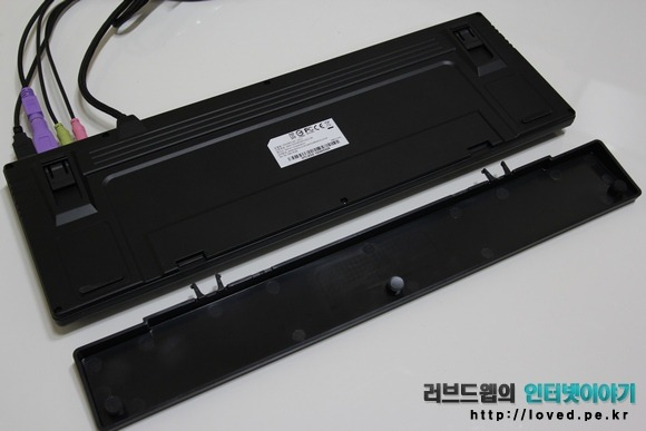 제닉스 Tesoro M7 LED SE 기계식 키보드 손목 받침대