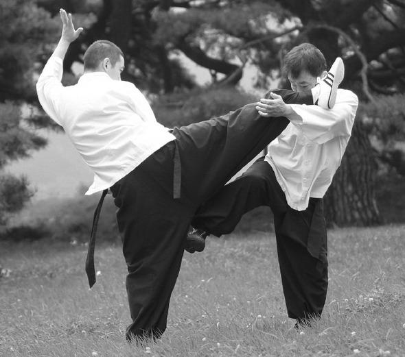 [한겨레가 만난 사람] '수벽치기' 전통무예인 육태안 (2011년 8월 15일자)