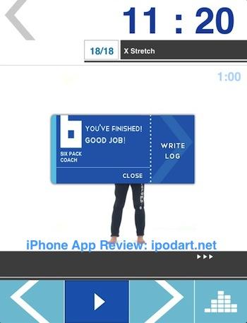 아이폰 아이패드 운동 식스팩  Sixpack Coach