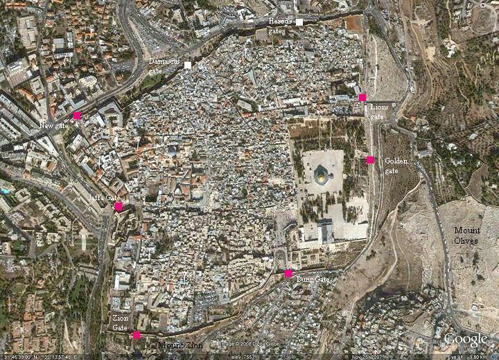 Imagingbible 이스라엘 예루살렘 성문들 1 Jaffa Gate 욥바문 Western 1