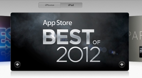 App Store Best of 2012 앱스토어 2012 베스트 게임과 앱