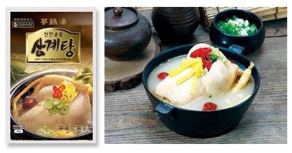 samgyetang, korean chicken ginseng soup, korean food, chicken soup, soup recipes