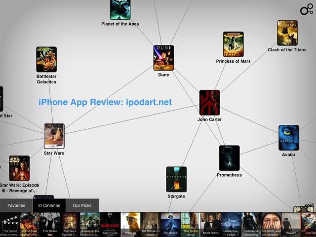 Discovr Movies - discover new movies 아이폰 아이패드 영화 검색