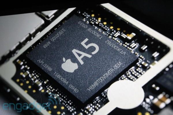 아이패드 2(iPad 2), 듀얼 코어 A5 Chip