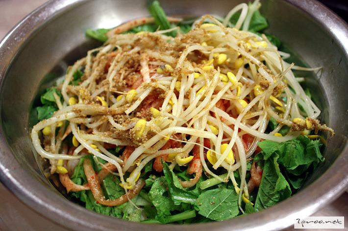 보리 비빔밥