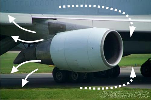 지상에서는 엔진을 통해 외부 매연이 기내로 유입될 수 있어..