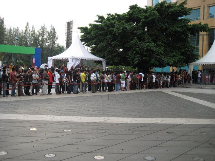 인도네시아의 노키아 C3 출시 이벤트 풍경 via Nokia Indonesia