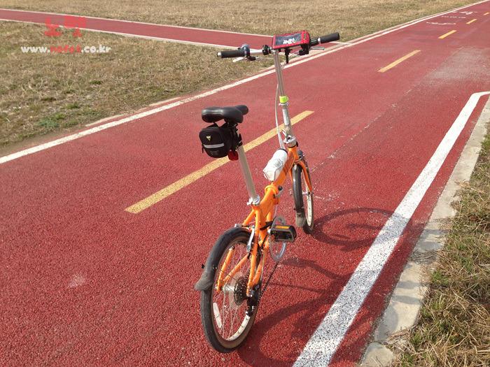 노펫이 사용하고 있는 다이어트 용도의 자전거 실제 이미지
