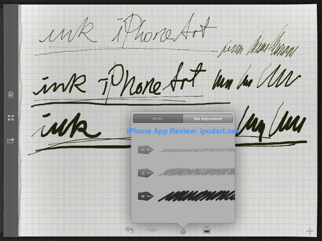 Inkiness for iPad