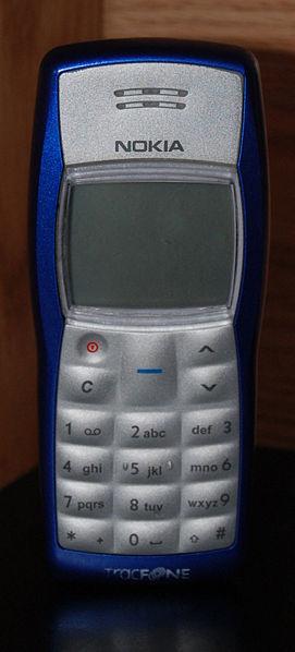 사진 출처: 위키피디아의 Haxorjoe님 http://en.wikipedia.org/wiki/File:Nokia1100_new.jpg