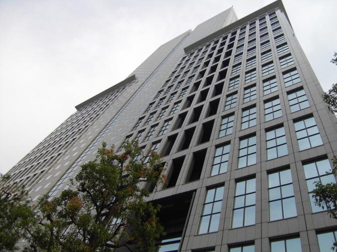 일본 NTT도코모 본사가 있는 건물
