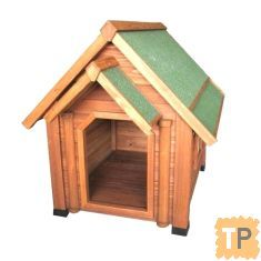 Kennel Wooden Dog House Cabin