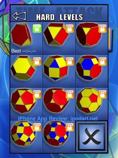 아이패드 형태 퍼즐 GeoSpin HD