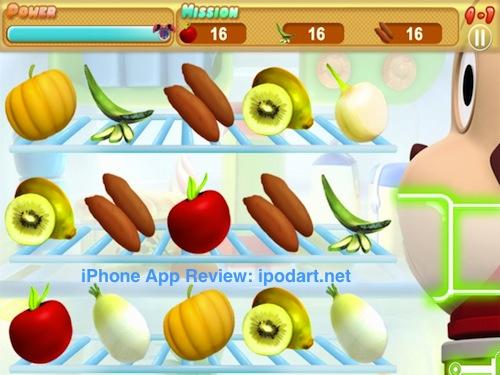 아이폰 아이패드 어린이 단어 매치 게임 싱싱 파워 로보콩 Fresh Power Robocong