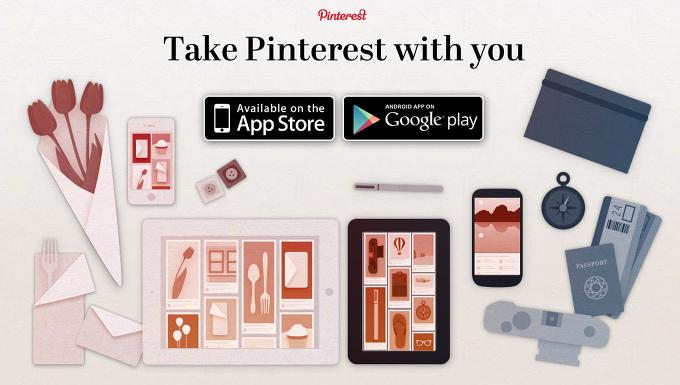 핀터레스트앱 - Pinterest app