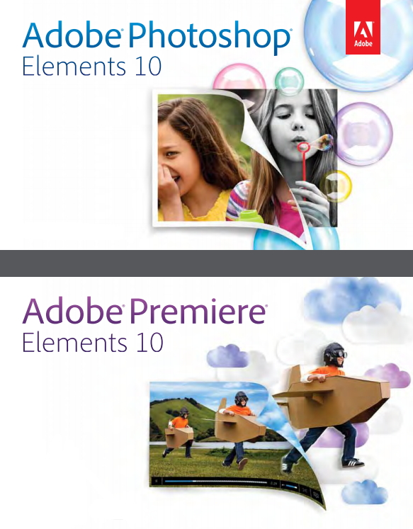 Adobe Photoshop & Premiere Elements 10