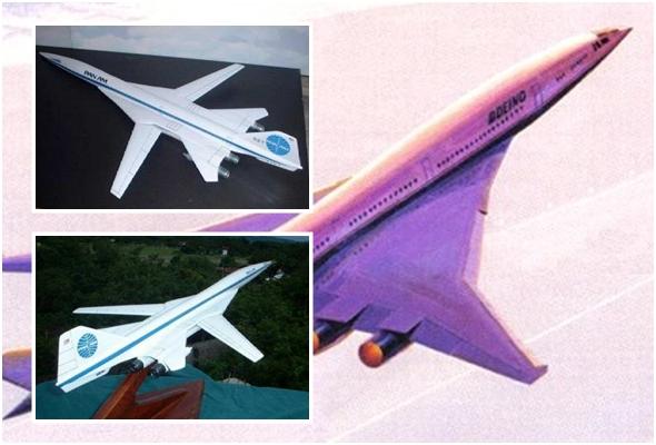 미국이 개발하기 시작한 초음속 여객기 Boeing 2707