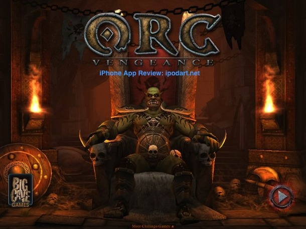 ORC -  Vengeance 아이폰 아이패드 RPG 게임