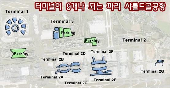큰 공항일 수록 터미널도 많고 복잡해 갈아타는 데 어려움 많아..