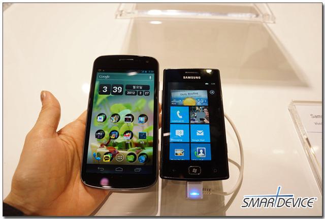 mwc, mwc2012, 삼성, 삼성전자 스마트폰, 옴니아 w
