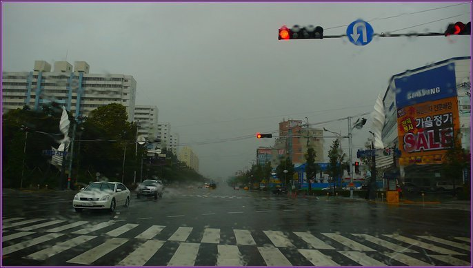 태풍 산바_양산